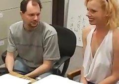 Horny Blond Mommas Nasty Encounter with a Dark Cock
